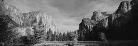 Mountains in Yosemite National Park, California by Panoramic Images art print