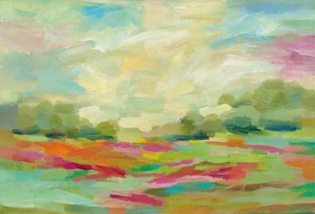 Sunny Fields by Silvia Vassileva art print