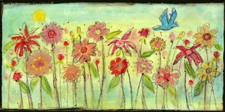 Sun Garden by Wyanne art print