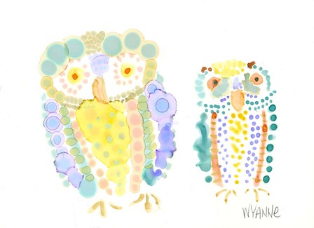 Ruffled Feathers by Wyanne art print