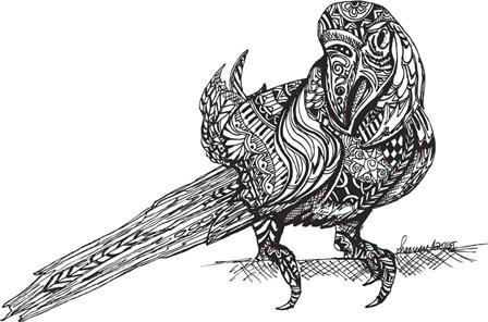 Birdy by Shacream Artist art print