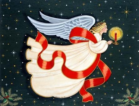 Christmas Angel by Sheila Lee art print
