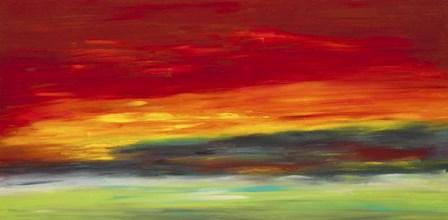 Island Sky by Hilary Winfield art print