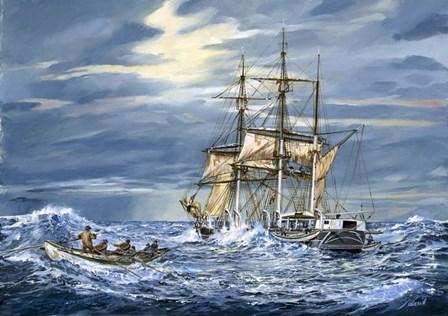 Stormy Seas by Jack Wemp art print