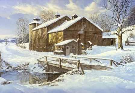 Fresh Snow by Jack Wemp art print
