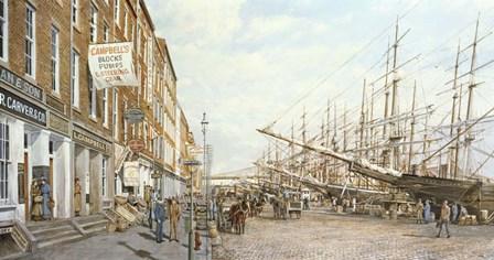 South Street - East River by Jack Wemp art print