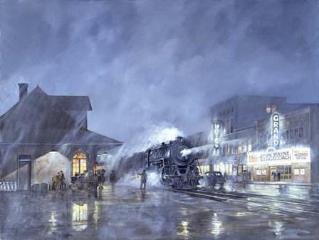 Train Station by Jack Wemp art print