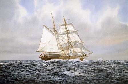 Brigantine by Jack Wemp art print