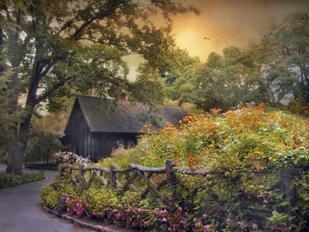 The Swedish Cottage by Jessica Jenney art print