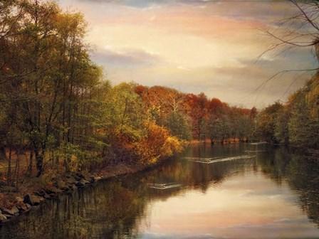 Sunset Pond by Jessica Jenney art print