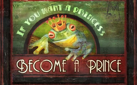 Frog Prince by Joel Christopher Payne art print