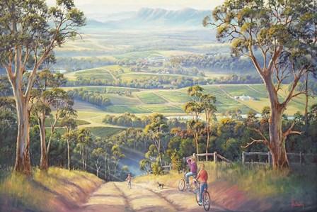 Vineyard Vista by John Bradley art print