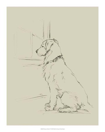 Waiting for Master IV by Ethan Harper art print