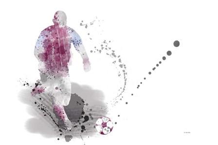 Soccer Player 4 by Marlene Watson art print