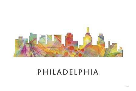 Philadelphia Skyline by Marlene Watson art print