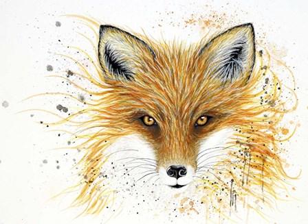 Fox Fire by Michelle Faber art print