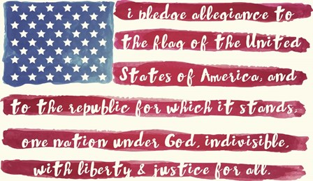 Pledge by Mindy Sommers art print