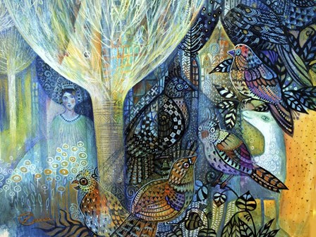Fairy by Oxana Zaika art print