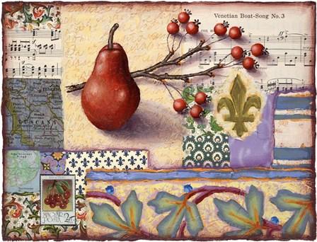 Florentine Pear by Rachel Paxton art print