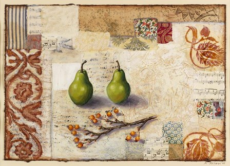 Marsh Cove Pears by Rachel Paxton art print