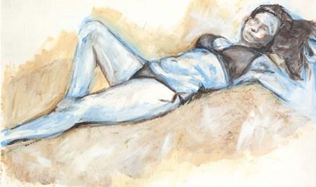 Nude IX by Anne Seay art print