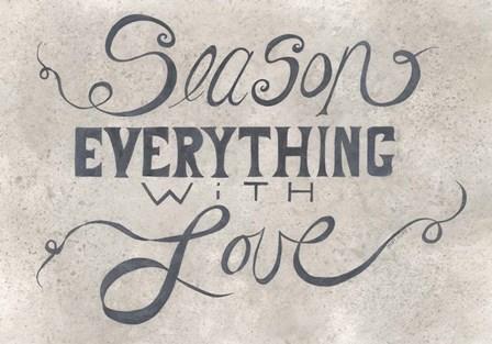 Season Everything by Cindy Shamp art print