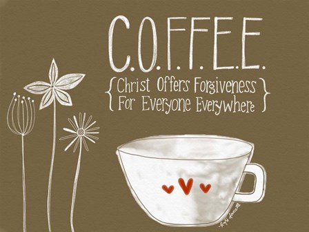 Coffee by Katie Doucette art print