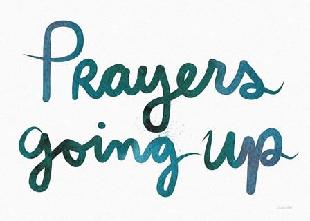 Prayers Going Up by Linda Woods art print