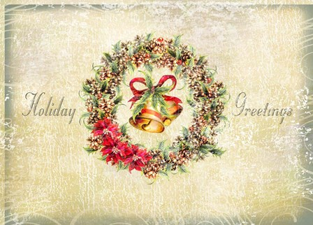 Holiday Greetings by P.S. Art Studios art print