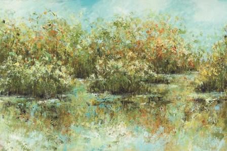 Hamden Pond by Michael Brey art print