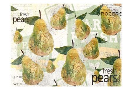 Fresh Pears by Kimberly Allen art print