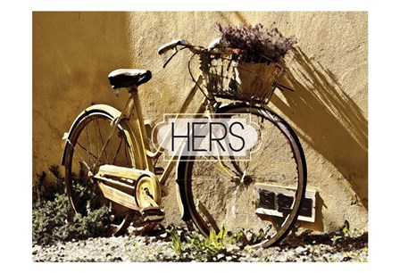 Her Bicycle by Melody Hogan art print