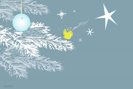 Christmas Song by Anne Cote art print