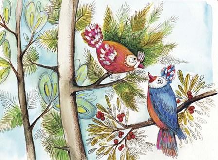 Nous Deux by Anne Cote art print