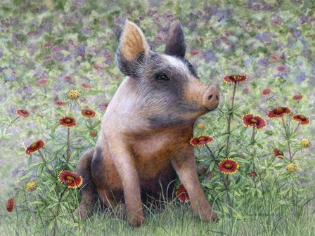 Flower Girl by Marcia Matcham art print