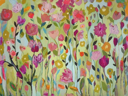 Field of Blooms by Carrie Schmitt art print
