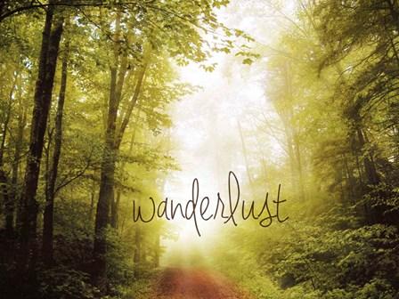 Wanderlust by Kimberly Glover art print