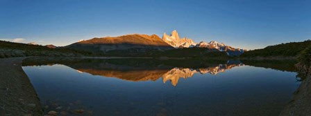 Sunrise over Mt Fitzroy, Argentina by Panoramic Images art print