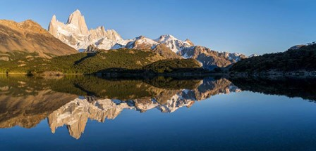 Mt Fitzroy Reflections, Laguna Capri, Argentina by Panoramic Images art print