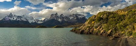 Lake Pehoe, Torres de Paine National Park, Patagonia, Chile by Panoramic Images art print