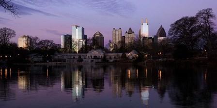Atlanta at Dusk by Panoramic Images art print