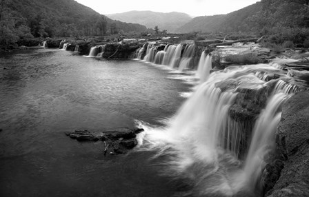 New River Falls, West Virginia by Panoramic Images art print