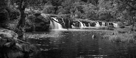 Pool at New River Falls, West Virginia by Panoramic Images art print