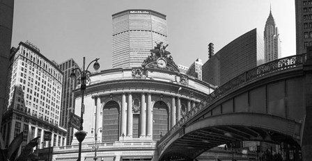 Grand Central Station, Madison Avenue, New York by Panoramic Images art print