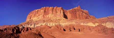 Capitol Reef National Park with Blue Sky, Utah by Panoramic Images art print