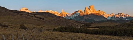 Sunrise over Mt Fitzroy, Patagonia, Argentina by Panoramic Images art print