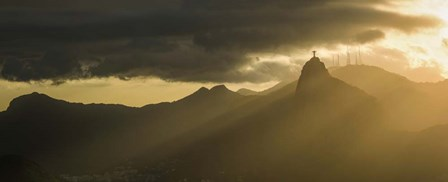 Sugarloaf Mountain at Dusk, Rio de Janeiro, Brazil by Panoramic Images art print