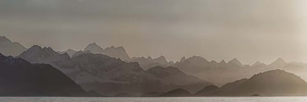Fog Over Glacier Bay National Park, Southeast Alaska by Panoramic Images art print