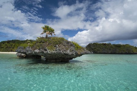 Fiji, Island of Fulanga. Lagoon inside volcanic caldera. by Cindy Miller Hopkins / Danita Delimont art print