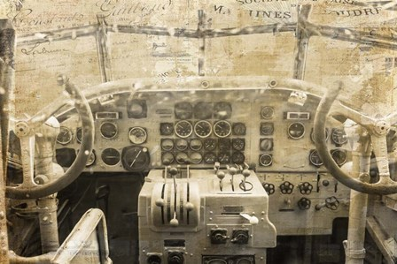 Concord Cockpit by Ramona Murdock art print